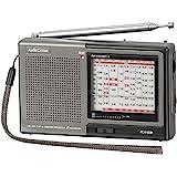 欧姆电机 株・赛马手持电台收音机 深灰色 宽125×高76×深30.5mm RAD-H310N