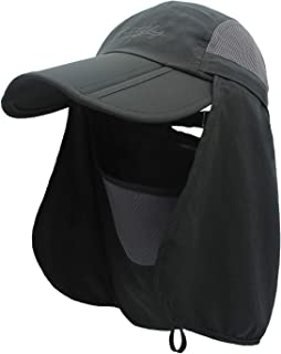 QingFang 儿童 UPF 50+ 多功能 360 度*宽边遮阳帽