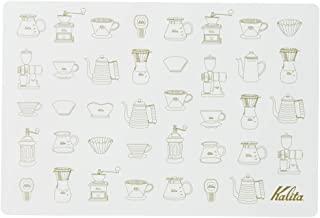 Kalita 咖啡 午餐垫 29×43厘米 灰色 #71131