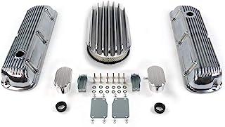 Vintage Parts 33891 SBF 15 英寸(约 38.1 厘米)深椭圆/芬状发动机装扮套件~带*器 (PCV) 289-351,1 包