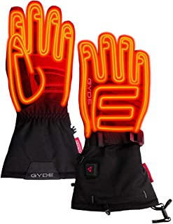 Gerbing Gyde S7 女士热手套 - 7V 可充电电池供电电热手套 - 暖手套 - 适合寒冷天气打猎、滑雪、户外露营、骑摩托车 - 黑色