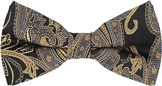 Epoint 蝴蝶结派对丝绸预绑蝴蝶结手帕袖扣套装可调节法式袖口衬衫