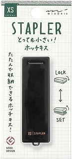MIDORI XS 小型订书机 黑色