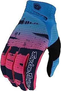 Troy Lee Designs 青少年儿童摩托车越野越野越野越野摩托车空气手套拉丝*蓝/青色