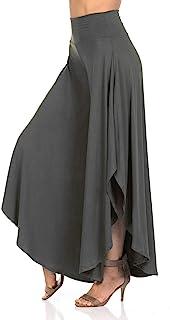 JDJ CO. 女士分层阔腿宽松七分裤,七分高腰阔腿七分裤