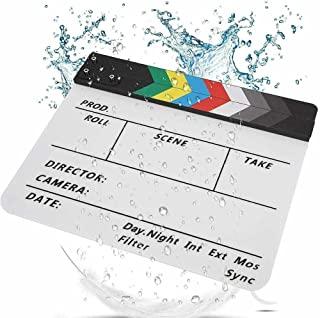 LinaLife 11.9 英寸 x 9.8 英寸(约 30 厘米 x 24.9 厘米)亚克力专业电影夹板夹板夹板彩色棒
