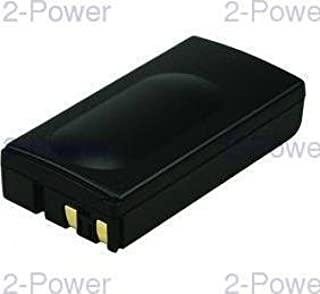 2-Power VBH0966A 6 V 摄像机电池 - 黑色
