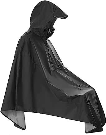 防水城市骑行雨衣带反光(口袋)