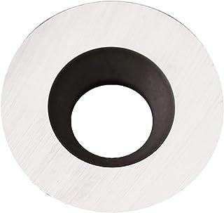 YTOOLS 8.9 毫米(0.35 英寸)圆形硬质合金插入切割刀,适用于 DIY 车床木车削工具,10 件装