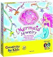 Creativity for Kids 美人鱼珠宝-串起美人鱼串珠,8件珠宝-非常适合初学者