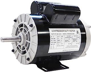 198E,2 HP SPL 压缩机重型电动机,3450 RPM,56 框架,5/8 英寸轴径,120/240 伏