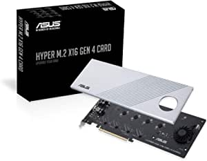 ASUS 华硕 Hyper M.2 x16卡v2 4 x M.2 插槽3 扩展卡