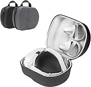 Akaigu 硬质旅行保护套,适用于 Oculus Quest 2 一体机 VR 游戏耳机和控制器存储盒保护存储旅行箱(黑色)