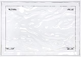Kartell 01200B4 Dune 托盘 塑料 水晶 46 × 32 × 2.5 厘米