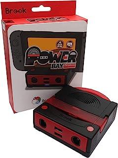 Brook Power Bay Crimson 充电底座 适用于GameCube 控制器无插头 支持高速充电 支持HDMI转换 [2373-0]