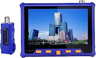 4 合 1 闭路电视摄像机测试仪,Electop AHD/TVI/CVI 5 英寸同轴测试仪模拟视频测试 RS-485 PTZ 控制功率输出 VGA 输入 UTP 电缆测试*摄像机监视器测试仪