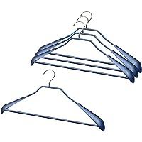 MAWA衣架 防滑 MAWA衣架 西装 外套用 带身体泡沫 (女款 M 绅士 S・M 尺寸) 金银色 蓝色 4431