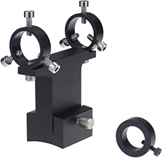 Gosky 激光指针支架,适用于天文望远镜(适用于 William 望远镜燕尾型) - 让您激光点入一个冷视装置 - 适合直径为 0mm-22mm 的指针