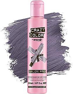 Crazy Color *剂 - 纯素和无残忍的半永久*剂 - 用于预亮或金发的临时* - 无需过氧化物或显影剂(ICE MAUVE)