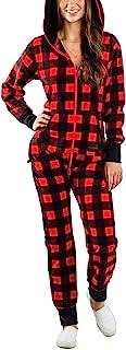 女式一件式丑圣诞睡衣,新奇连帽连体衣连身衣睡衣夜店服