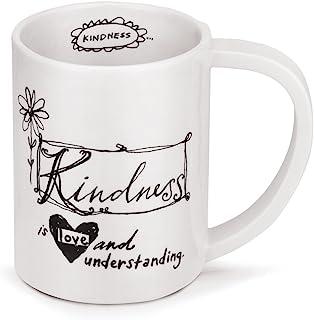 Demdaco Kindness 马克杯,白色