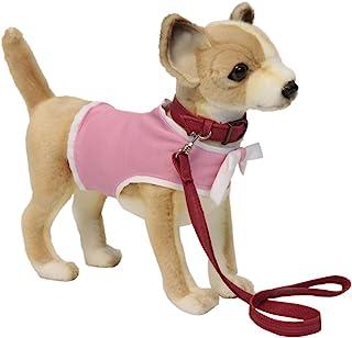 Hansa Chihuahua 粉色外套和皮带毛绒玩具