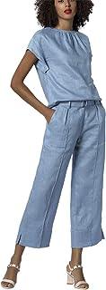 APART 时尚女士亚麻长裤