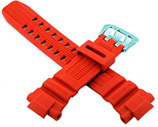 Casio 卡西欧 #10370830 原装替换表带 适用于 G Shock Watch 型号 GW3000M-4AV (橙色)