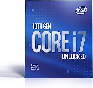 Intel 英特尔 i7-10700KF (3,80GHz; Sockel: LGA1200; 125 Watt) 盒装