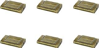 Quluxe Toggle Catch Lock,复古装饰吊带,手提箱胸箱锁扣 - 青铜(6 件装)