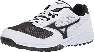 Mizuno 男式**低皮鞋棒球