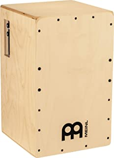Meinl Percussion Pickup Cajon Box 鼓带响乐效果和电子,适用于扩音器或 PA 系统 - 欧洲制造 - 波罗的海桦木,Snarecraft 系列,2 年保修 (PSC100NT)