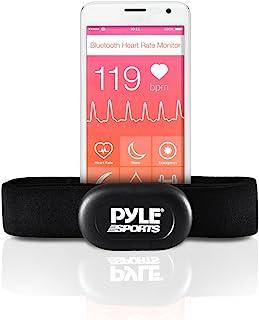 用于 iPhone 和 Android 手机的 Pyle 蓝牙智能心率传感器,与 Polar ALA 教练和 MotiFit Strava 应用蓝牙 LE 传感器