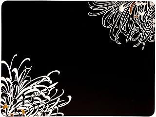 Denby 30.5 x 23 厘米软木背式生活方式黑色罂粟餐垫套装,4件套,多色 Black/Gold/ Cream 151011505