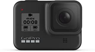 GoPro HERO8 黑色防水运动相机 触摸屏 4K超高清视频 12MP照片 1080p稳定直播