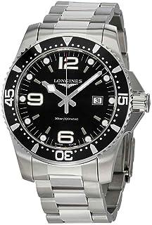 Longines HydroConquest 钢 44 毫米潜水手表 L38404566