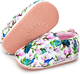 Lafegen 女婴男童高帮帆布鞋婴儿新生儿学步儿童学步鞋(0-18 个月)
