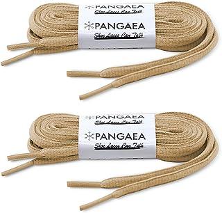 [2 双] Pangaea 椭圆鞋带半圆半圆 1/4 英寸鞋带更多颜色和长度