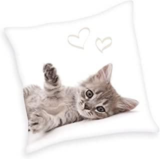 Herding 装饰枕头,涤纶,白色/米色,40 x 40 厘米