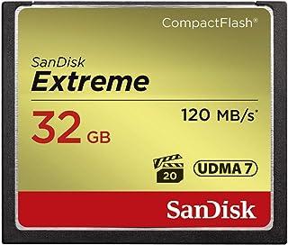 SanDisk Extreme CompactFlash Card SanDisk Extreme CompactFlash Card Black, Gold, Red 32 GB