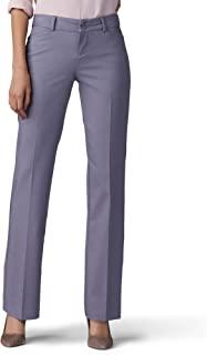 Lee 女式 Secretly Shapes 标准修身直筒裤