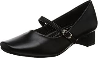 [罗密欧华伦天奴] 浅口鞋 方头 鞋跟3.5cm 足围3E PU皮革 VB3371