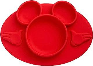 The First Years Disney 米老鼠硅胶餐垫 红色 1-Piece