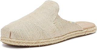 TOMS 灰褐色绒面/Per 女式 Grenda 坡跟凉鞋 灰褐色 10014139