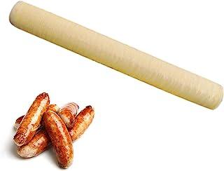 jycous Casings for Sausage - 14M×20MM 香肠壳火腿香肠胶原蛋白壳烤干香肠热狗胶原蛋白包装