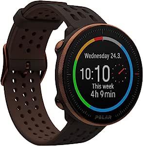 Polar Vantage M2 时尚多功能运动智能手表,内置 GPS,手腕心率测量, 每天个人锻炼建议,*和休息跟踪,音乐控件,天气预报