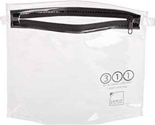 Lewis N. Clark Luggage TSA Quart-Size 便携式洗漱用品袋 透明 均码