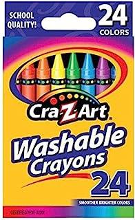 Cra-Z-Art 可洗蜡笔,24 支装 (10222)