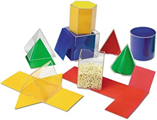 Learning Resources 折叠几何形状,几何/数学辅助,16件套,7岁以上