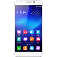 荣耀6 Honor6 TD-LTE/TD-SCDMA/GSM 16G版 移动4G手机(白色)八核4G CAT6手机,5英…